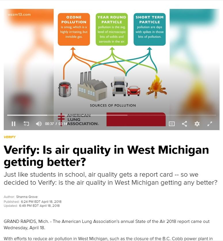 Click to view article from WZZM 13